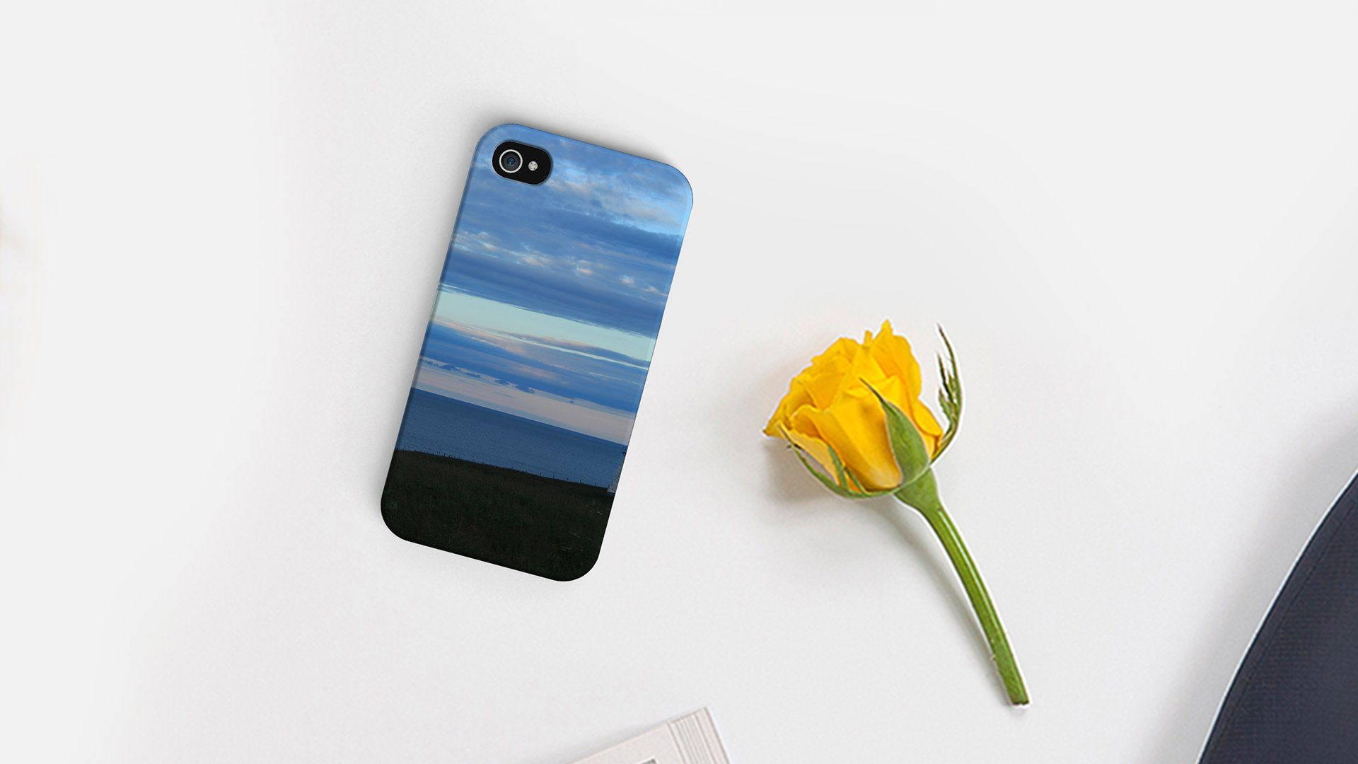 Here's a beautiful example of the Print Shops option to have custom imagery added to snap cases.